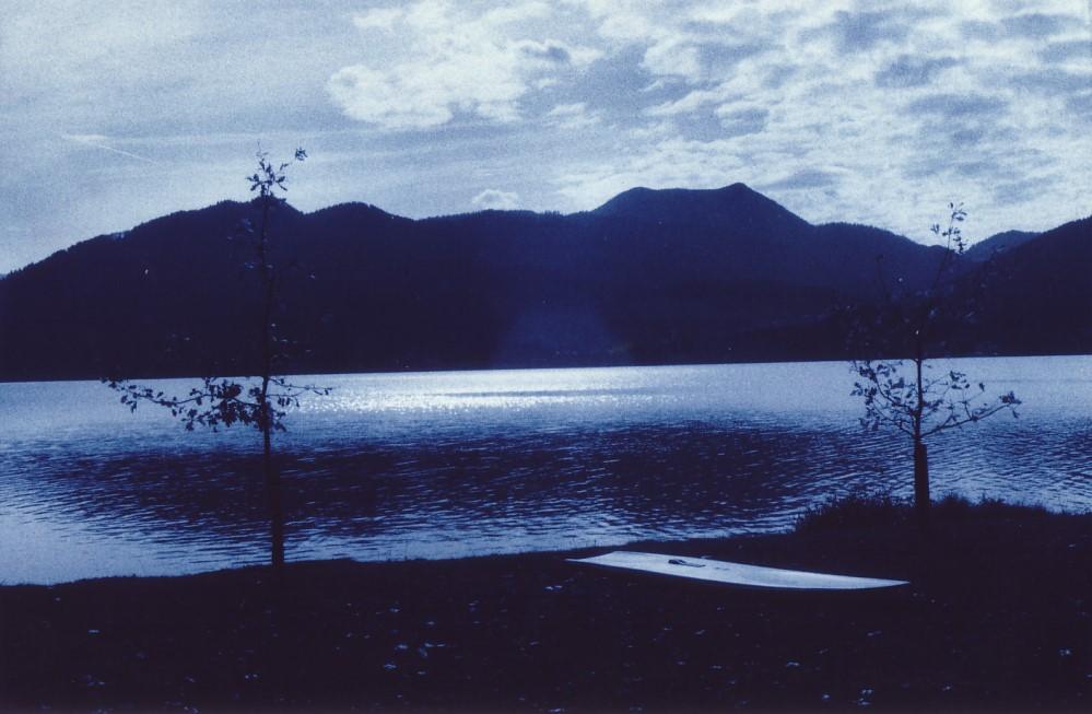 Der Tegernsee mit dem Hirschberg, 2008
