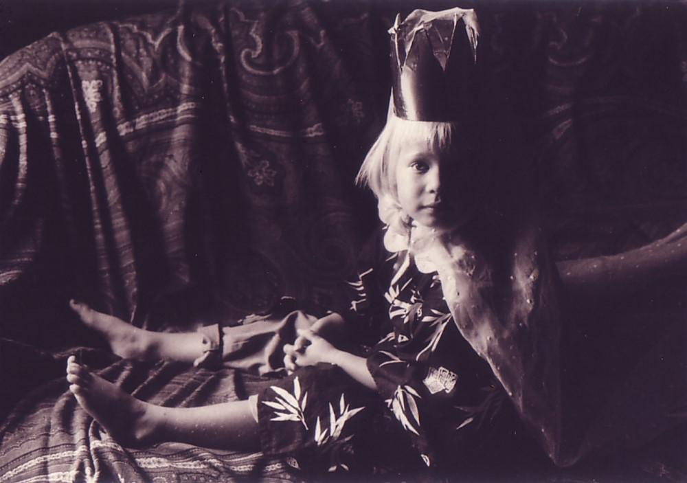 Marina, als Königin verkleidet, 1994