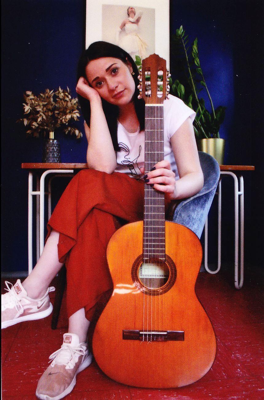 Cosima, Gitarre, 2020